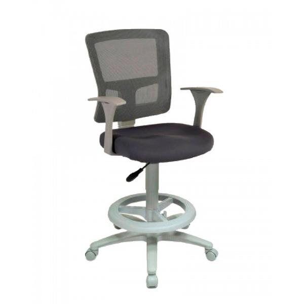 Silla tipo cajero quadra rs 680 45gr for Tipos de sillas de oficina
