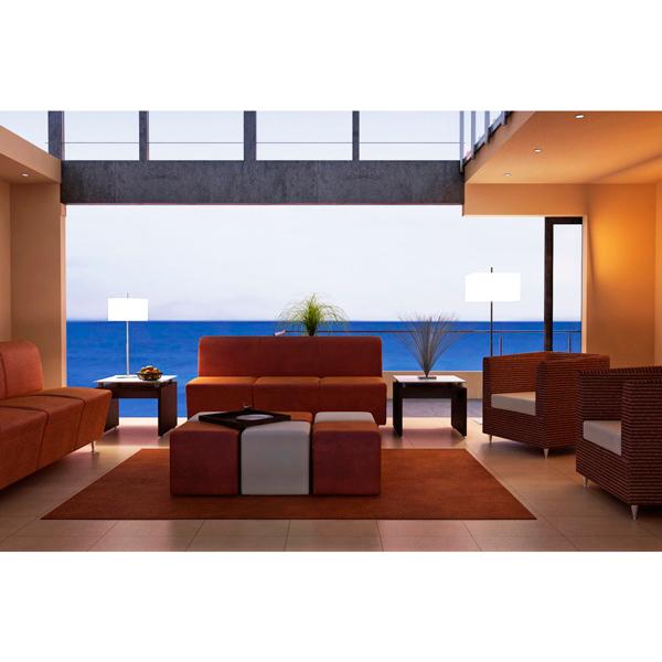 Sofas y mesas para recepcion haken 4 for Muebles de oficina haken