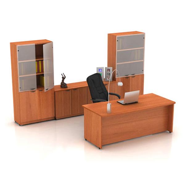 Conjunto gerencial haken peral for Conjunto muebles oficina