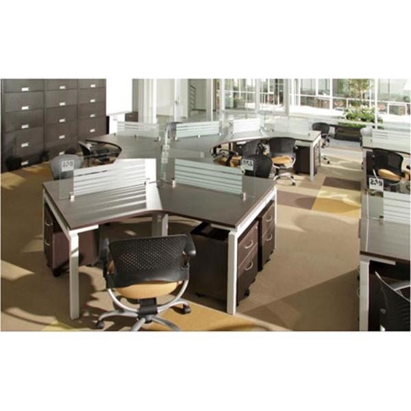 Conjunto operativo triceta aqua2 for Muebles de oficina haken