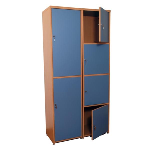 Lockers de melamina haken for Muebles de oficina haken