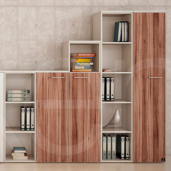Libreros haken for Muebles de oficina haken
